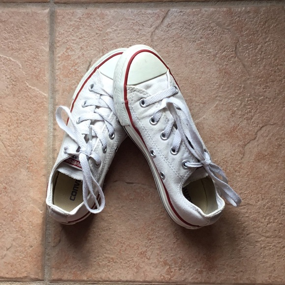 Converse Shoes | White Girl Size 13